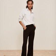 Double-Jersey Pull-On Side Stripe Trouser, Black, 8