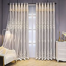 Double Layer Blackout Curtain for Girl Bedroom