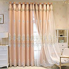 Double Layer Blackout Curtain for Girls