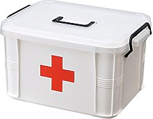 Double Layer Box Medical Storage Box Chest,