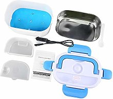 Double layer Heated Lunch Box Portable Electric
