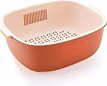 Double Layer Vegetable Sink Drain Basket Kitchen