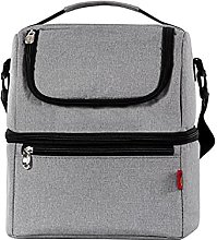 Double Layers Insulated Lunch Bag 40L Cooler Bag