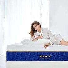 Double Mattress, Molblly 20CM Gel Memory Foam