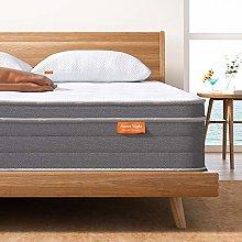 Double Mattress, Sweet Night 10 Inch Soft Pillow
