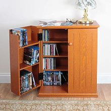 Double Media Cabinet By Coopers Of Stortford