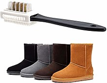 Double Nice Shoe polish brushes 1Pcs Black 3 Side