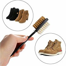 Double Nice Shoe polish brushes 2-Sided Cleaning