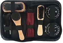 Double Nice Shoe polish brushes 8 Pcs/Set Shoes