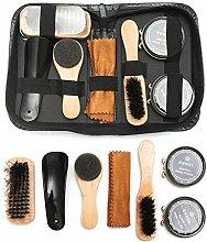 Double Nice Shoe polish brushes Pro Shoes Care Kit