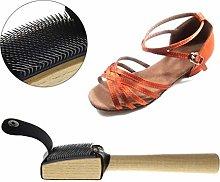 Double Nice Shoe polish brushes Wood Suede Sole