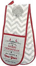 Double Oven Glove Vintage Christmas