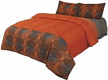 Double Reversible Printed Super Soft Duvet Quilt