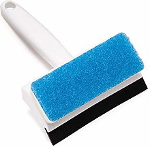 Double-Sided Cleaning Brush Window Squeegee