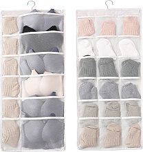 Double Sided Hanging Closet Dual-Sided Hanging