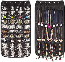 Double-Sided Hanging Jewellery Organiser 40