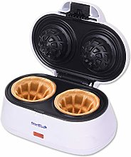 Double Waffle Bowl Maker by StarBlue - White -