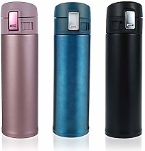 Double Walled Vacuum Flask Thermo, 500ml Reusable