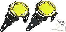 Dounan Fog Light Protector,Motorcycle Fog Light