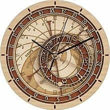 Douup 12 inch Prague Astronomical Wall Clock,