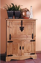 Dovray Bar Cabinet Union Rustic