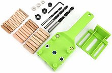 Dowel Jig 41pcs Thick Drill Guide Tool Drilling