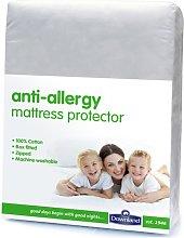 Downland Anti-Allergy Zipped Mattress Protector -