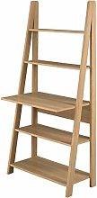 DOWNTON INTERIORS Modern Oak Office Desk Ladder