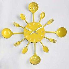 Doyime Spoon, Spatula Wall Clock Kitchen Utensils