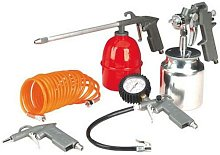 Dp - 5Pc Air Compressor Kit Spray Gun Tools