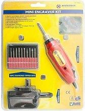 Dp - Mini Engraver Kit For Craft Glass Ceramic Metal Machine Drill Tool Engraving New