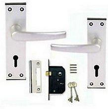 DP3071 Aluminium External Lock Handle Door Pack -