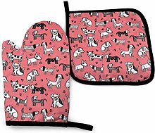 dpcm Pink Coral Bright Girly Pet Dog Puppy Oven