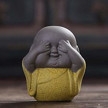 DPJ Sculpture Ceramic Tea Buddha Little Monk