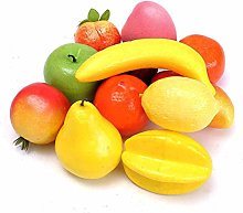 DPNY 12 Pieces Mixed Artificial Fruit Realistic
