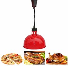 Dr.COLORFUL Food Warmer Lamp 250W 250mm Food Heat