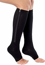 Dr.CURVY 3 Pairs Compression Socks Toeless Medical