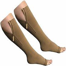 Dr.CURVY 3 Pairs Compression Socks Women Reduce