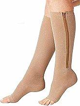 Dr.CURVY 3 Pairs Zip Up Compression Socks Original