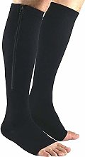 Dr.CURVY 3 Pairs Zippered Compression Stockings