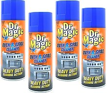 Dr Magic 390ml x 4 Cans, Oven & Grill Cleaner