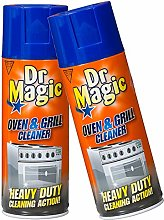 Dr Magic Oven & Grill Cleaner 390ml (2 Cans)