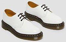 Dr Martens 1461 Flat Shoe - White