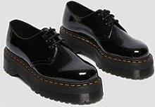Dr Martens 1461 Quad Flat Shoe - Black