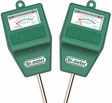 Dr.meter 2-Pack Moisture Sensor Meter, Soil Water