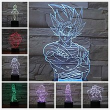Dragon Ball Figure Atmosphere Table lamp Lampara
