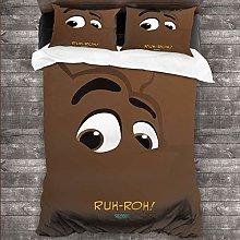 DRAGON VINES 4pcs Bedding Set a king size sheet