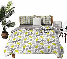 DRAGON VINES double bed Home textile Abstract