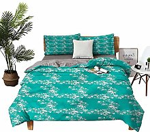 DRAGON VINES double bed Home textile Dolphins with
