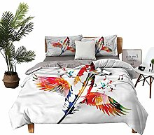DRAGON VINES double bed Home textile Feather with